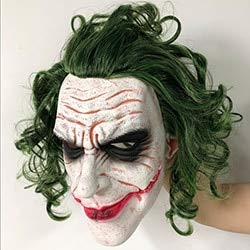 XWYWP Masque dHalloween Joker Film Batman The Dark Knight Ho